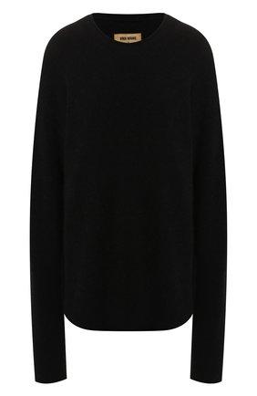 Женская пуловер UMA WANG черного цвета, арт. A9 M UK7573 | Фото 1