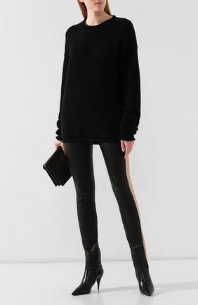 Женская пуловер UMA WANG черного цвета, арт. A9 M UK7573 | Фото 2