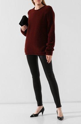 Женская пуловер UMA WANG бордового цвета, арт. A9 M UK7573 | Фото 2