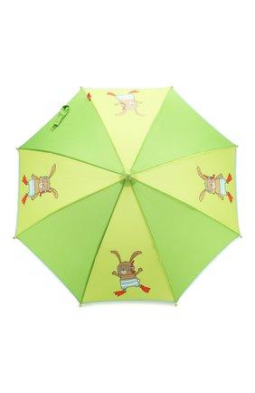 Детский зонт Зеленый Кролик | Фото №1