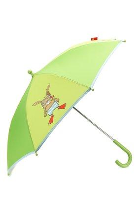 Детский зонт Зеленый Кролик | Фото №2