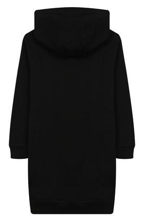 Хлопковое платье с капюшоном | Фото №2