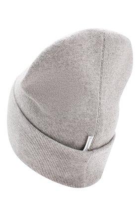 Детского шапка из шерсти и кашемира IL TRENINO светло-серого цвета, арт. 19 6408/LR | Фото 2