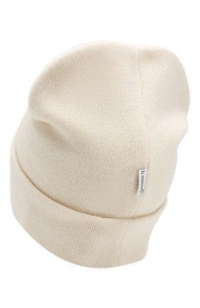 Детского шапка из шерсти и кашемира IL TRENINO белого цвета, арт. 19 6408/LR | Фото 2