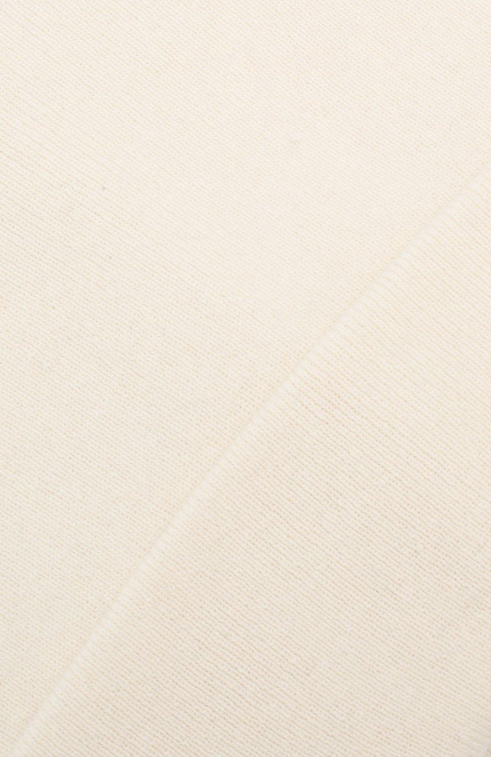 Детского шапка из шерсти и кашемира IL TRENINO белого цвета, арт. 19 6408/LR | Фото 3