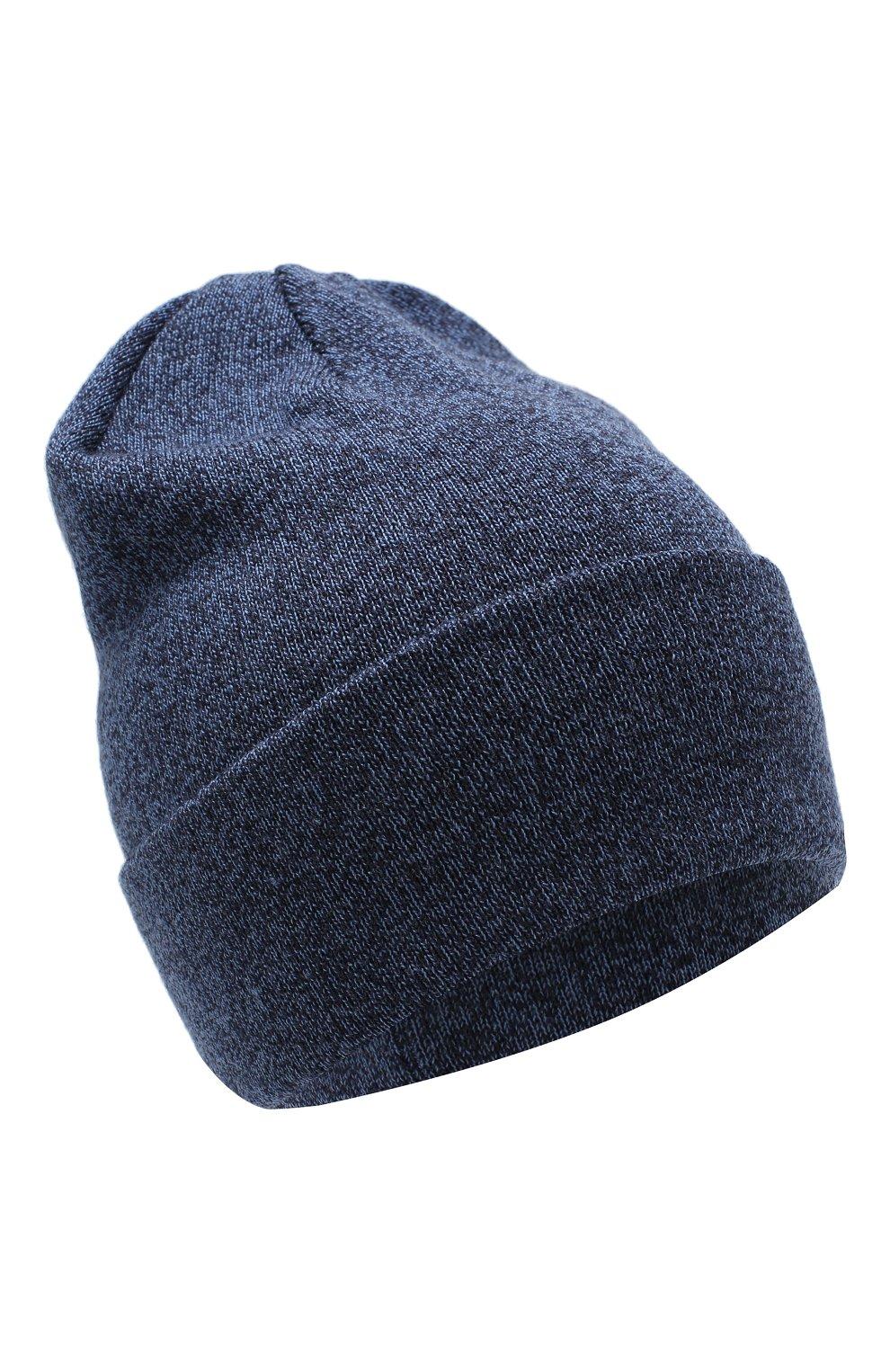 Детского шерстяная шапка IL TRENINO синего цвета, арт. 18 7319/LR   Фото 1