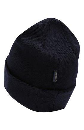 Детского шерстяная шапка IL TRENINO темно-синего цвета, арт. 18 7319/LR | Фото 2
