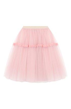 Детская юбка SIMONETTA розового цвета, арт. 1L7070/LA960/5-8 | Фото 2