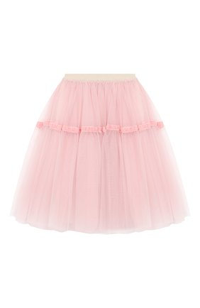 Детская юбка SIMONETTA розового цвета, арт. 1L7070/LA960/10-14+ | Фото 2