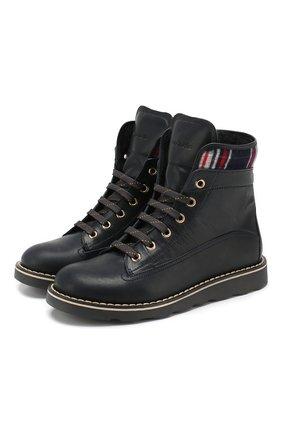 Кожаные ботинки   Фото №1