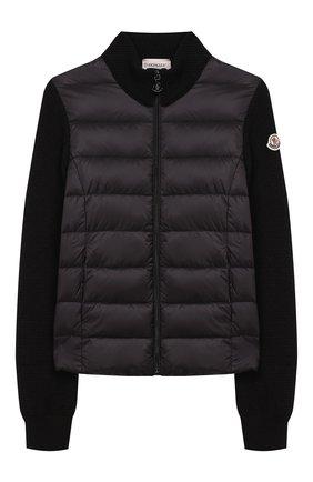 Шерстяная куртка с утеплителем | Фото №1