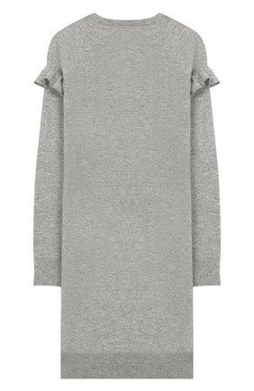 Детское шерстяное платье POLO RALPH LAUREN серого цвета, арт. 313751083 | Фото 2