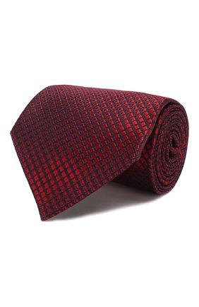 Мужской шелковый галстук ERMENEGILDO ZEGNA красного цвета, арт. Z6E12/1XW | Фото 1