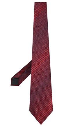 Мужской шелковый галстук ERMENEGILDO ZEGNA красного цвета, арт. Z6E12/1XW | Фото 2