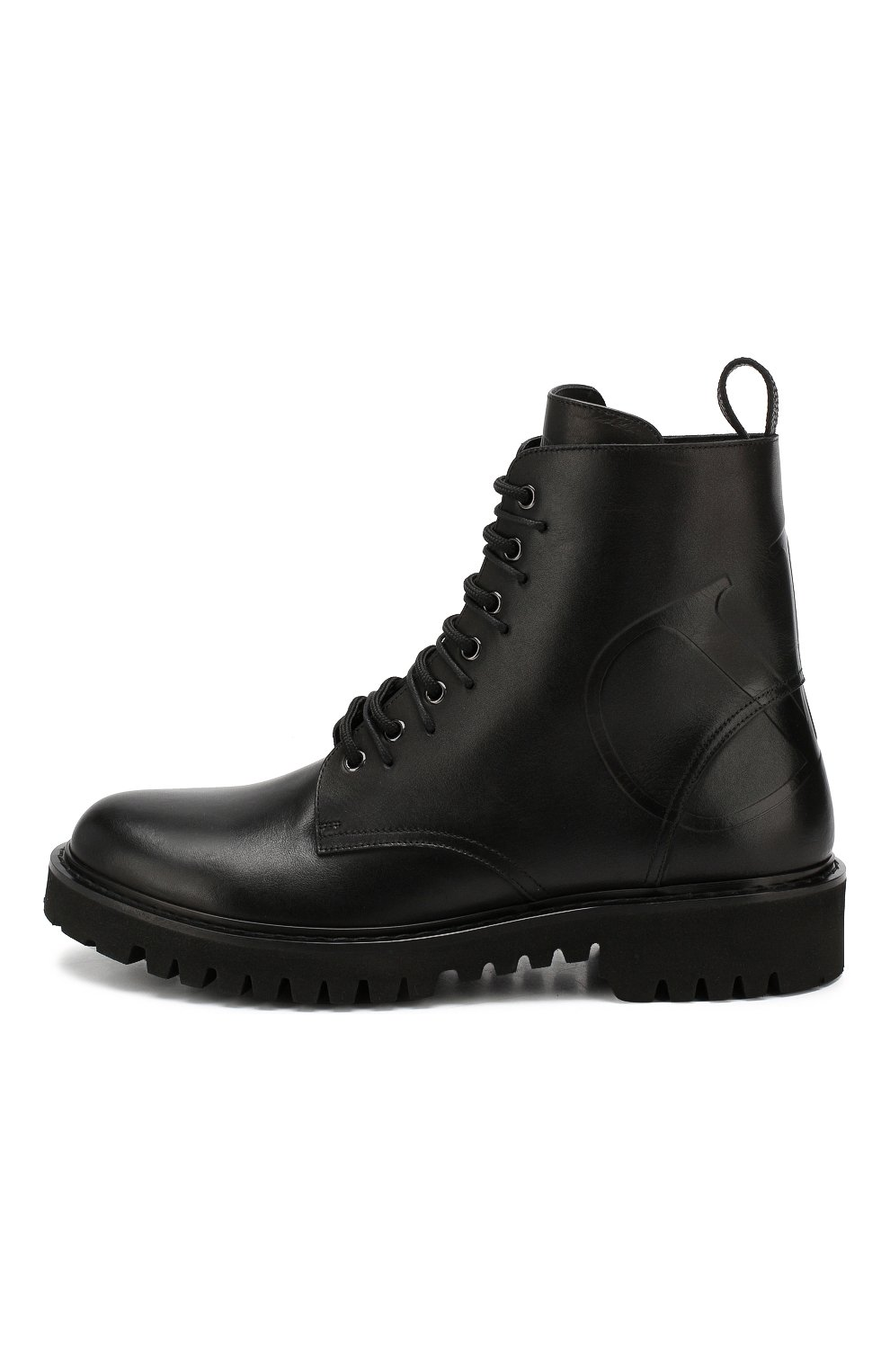 Мужские кожаные ботинки valentino garavani VALENTINO черного цвета, арт. SY2S0C03/JZI | Фото 3