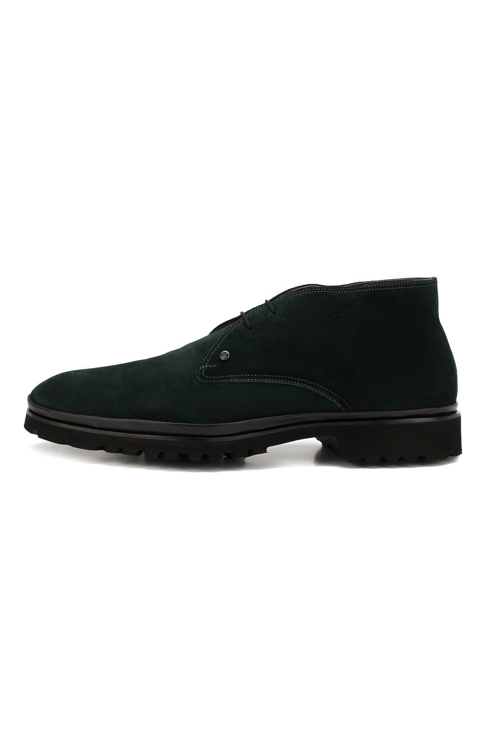Мужские замшевые ботинки ALDO BRUE темно-зеленого цвета, арт. AB8514H-SA | Фото 3