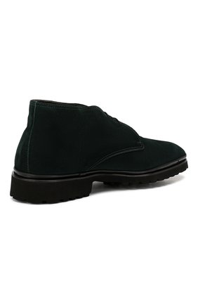Мужские замшевые ботинки ALDO BRUE темно-зеленого цвета, арт. AB8514H-SA | Фото 4