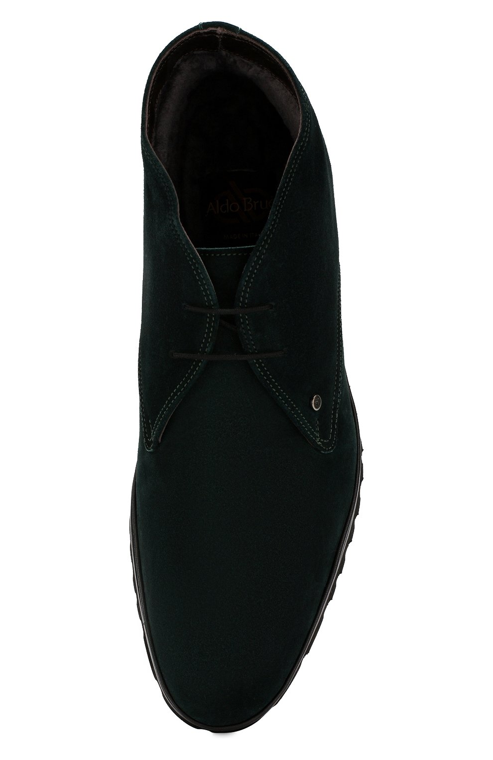Мужские замшевые ботинки ALDO BRUE темно-зеленого цвета, арт. AB8514H-SA | Фото 5