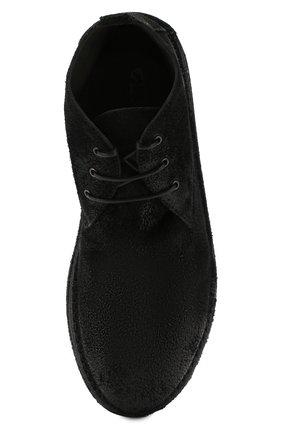 Мужские замшевые ботинки MARSELL черного цвета, арт. MM2795/SPALLA R0VESCI0 | Фото 5