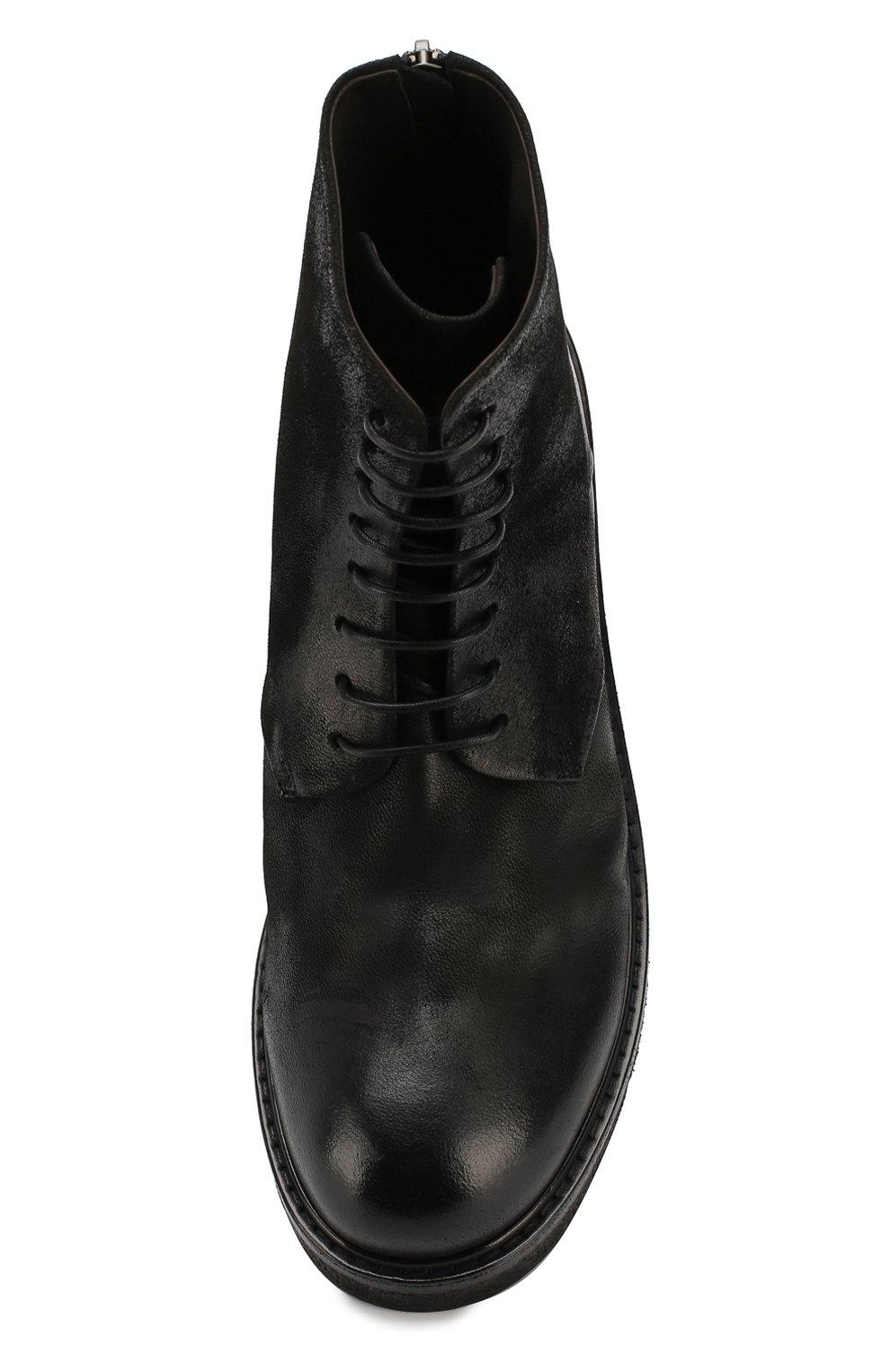 Мужские кожаные ботинки MARSELL черного цвета, арт. MM2961/NEVE | Фото 5