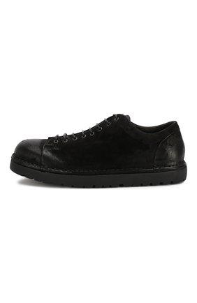 Мужские кожаные ботинки MARSELL черного цвета, арт. MMG350/DR0M R0VESCI0 | Фото 3