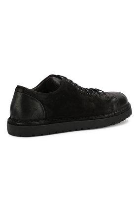 Мужские кожаные ботинки MARSELL черного цвета, арт. MMG350/DR0M R0VESCI0 | Фото 4