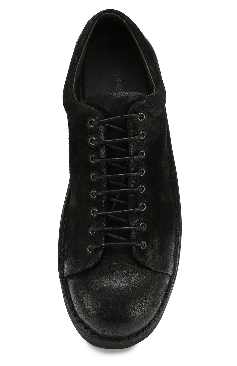 Мужские кожаные ботинки MARSELL черного цвета, арт. MMG350/DR0M R0VESCI0 | Фото 5
