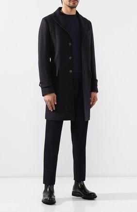 Мужские кожаные челси DOUCAL'S черного цвета, арт. DU12490TTAUF087NN00 | Фото 2