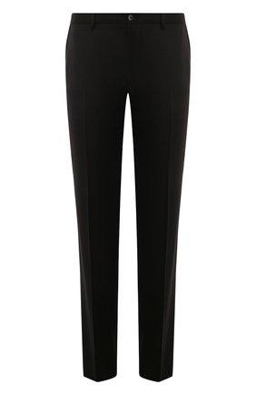 Мужские шерстяные брюки ZILLI черного цвета, арт. M0S-40-38N-B6406/0001   Фото 1