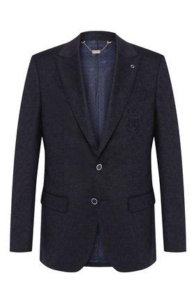 Мужской шерстяной пиджак BILLIONAIRE темно-синего цвета, арт. MRF0856 | Фото 1
