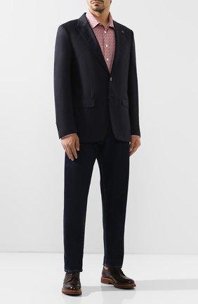 Мужской шерстяной пиджак BILLIONAIRE темно-синего цвета, арт. MRF0856 | Фото 2