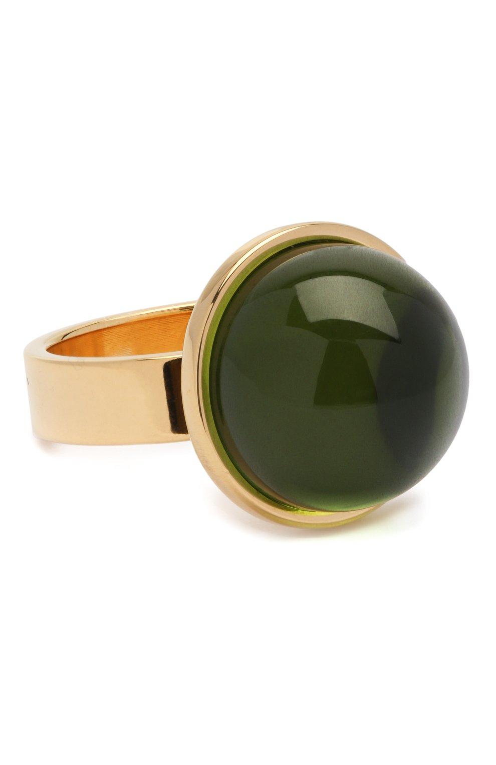 Женское набор колец MARNI зеленого цвета, арт. ANMV0028A0/M2000   Фото 5