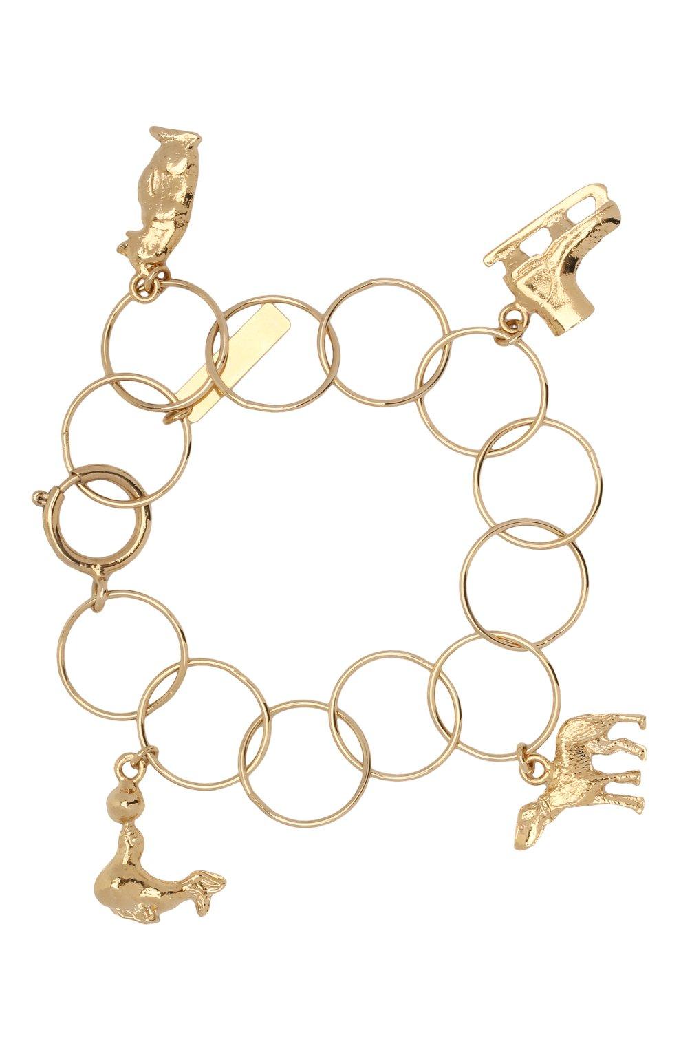 Женский браслет MARNI золотого цвета, арт. BRMV0068N0/M2000   Фото 1