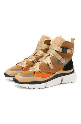 Замшевые кроссовки Sonnie  | Фото №1