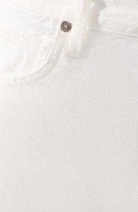 Женские джинсовые шорты CITIZENS OF HUMANITY белого цвета, арт. 90000-1114   Фото 5