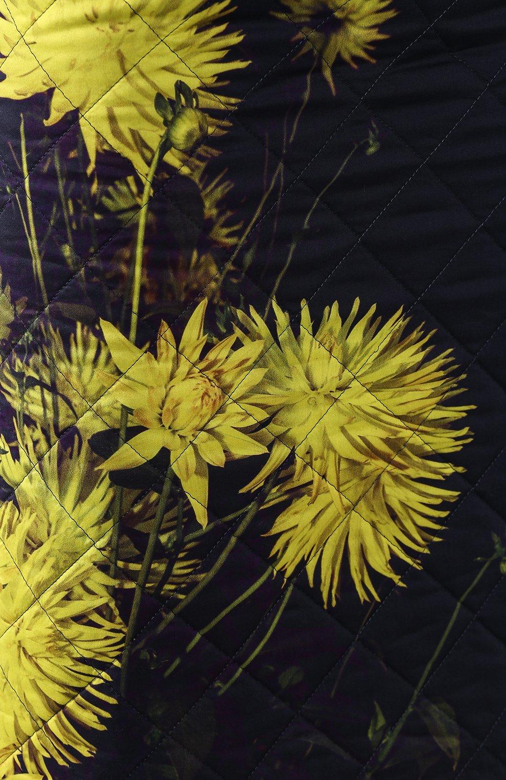 Женская стеганая юбка DRIES VAN NOTEN желтого цвета, арт. 192-30815-8537   Фото 5