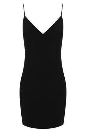 Женское платье из смеси шерсти и вискозы ALEXANDERWANG.T черного цвета, арт. 4WC2196003 | Фото 1