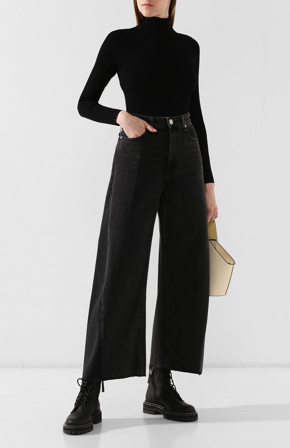 Женские джинсы RAG&BONE серого цвета, арт. W2670I252LUN | Фото 2