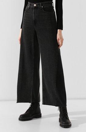 Женские джинсы RAG&BONE серого цвета, арт. W2670I252LUN | Фото 3