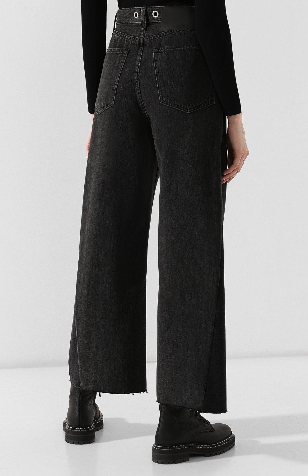 Женские джинсы RAG&BONE серого цвета, арт. W2670I252LUN | Фото 4