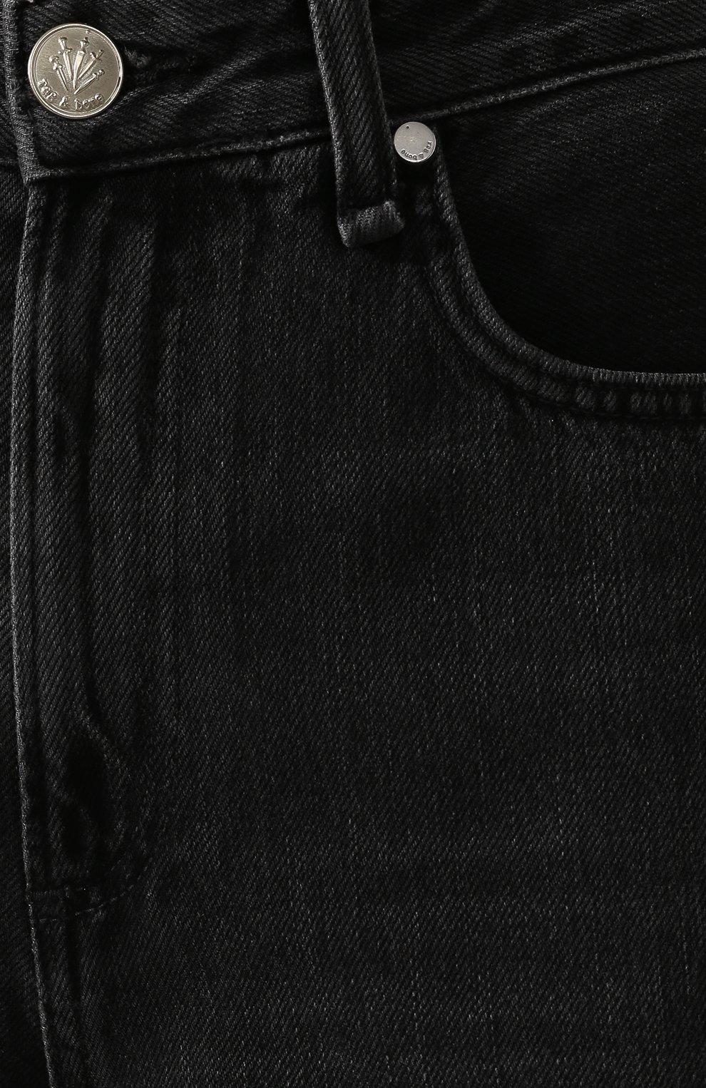 Женские джинсы RAG&BONE серого цвета, арт. W2670I252LUN | Фото 5