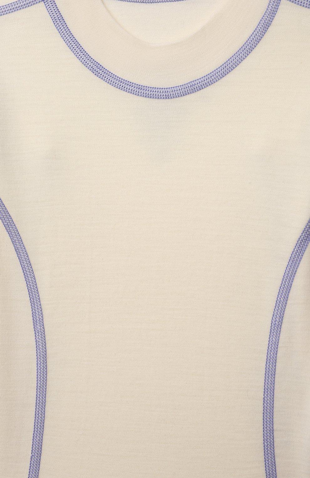 Детское шерстяное боди NORVEG бежевого цвета, арт. 4SU04LRU-011 | Фото 3