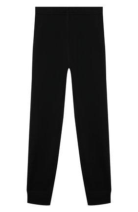 Детские шерстяные джоггеры NORVEG черного цвета, арт. 4SU003RU-002 | Фото 1