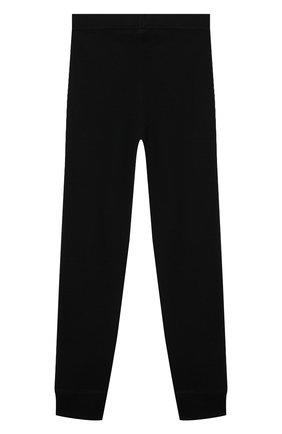 Детские шерстяные джоггеры NORVEG черного цвета, арт. 4SU003RU-002 | Фото 2