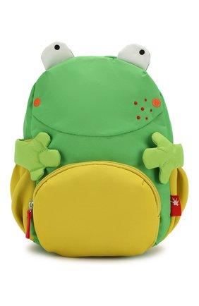 Детская рюкзак лягушка SIGIKID разноцветного цвета, арт. 24920 | Фото 1