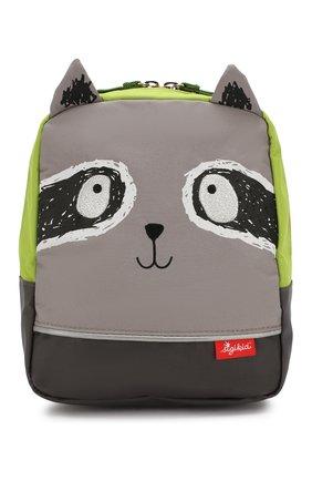 Детская рюкзак енот SIGIKID разноцветного цвета, арт. 24976 | Фото 1