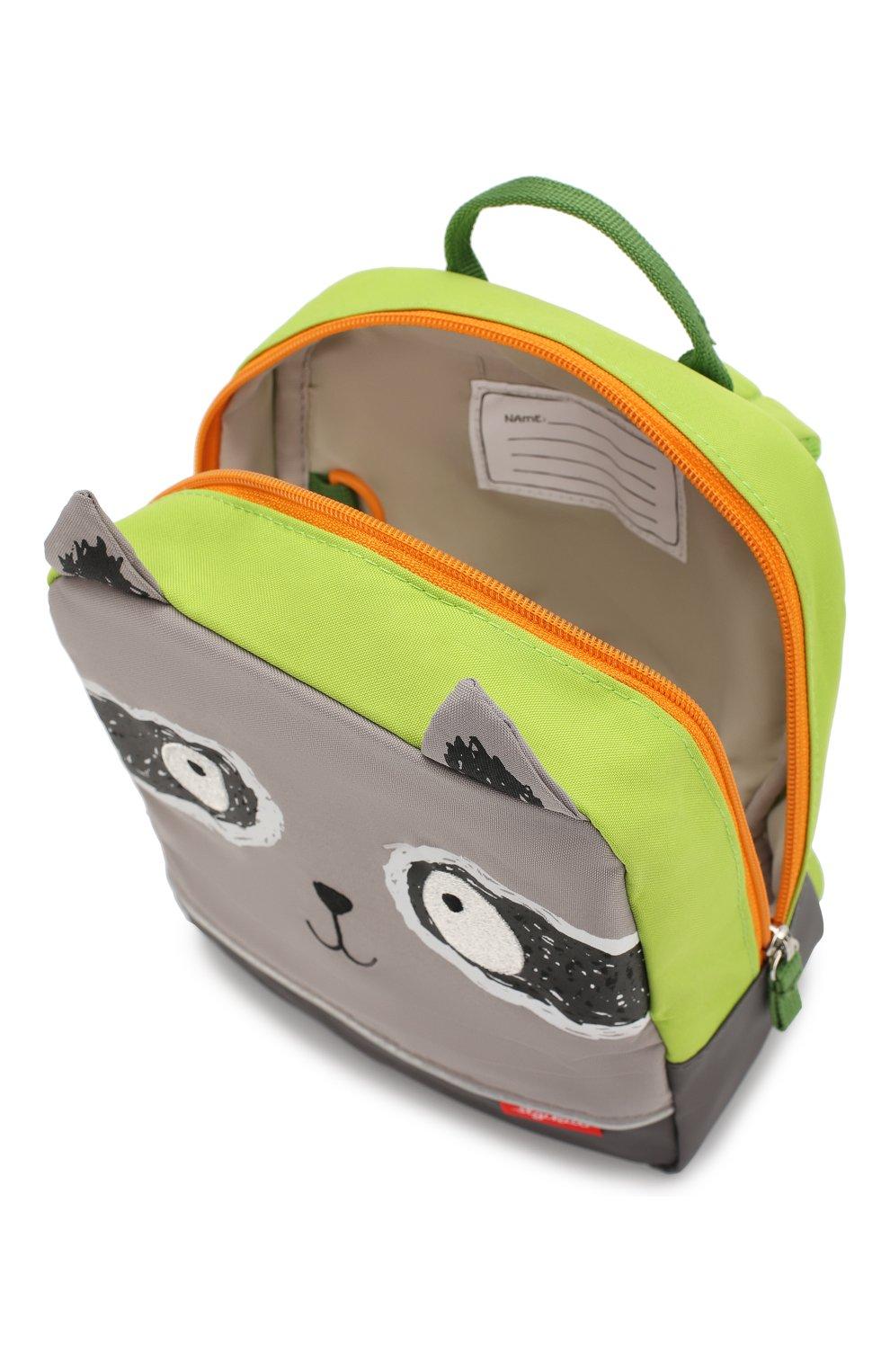 Детская рюкзак енот SIGIKID разноцветного цвета, арт. 24976 | Фото 3