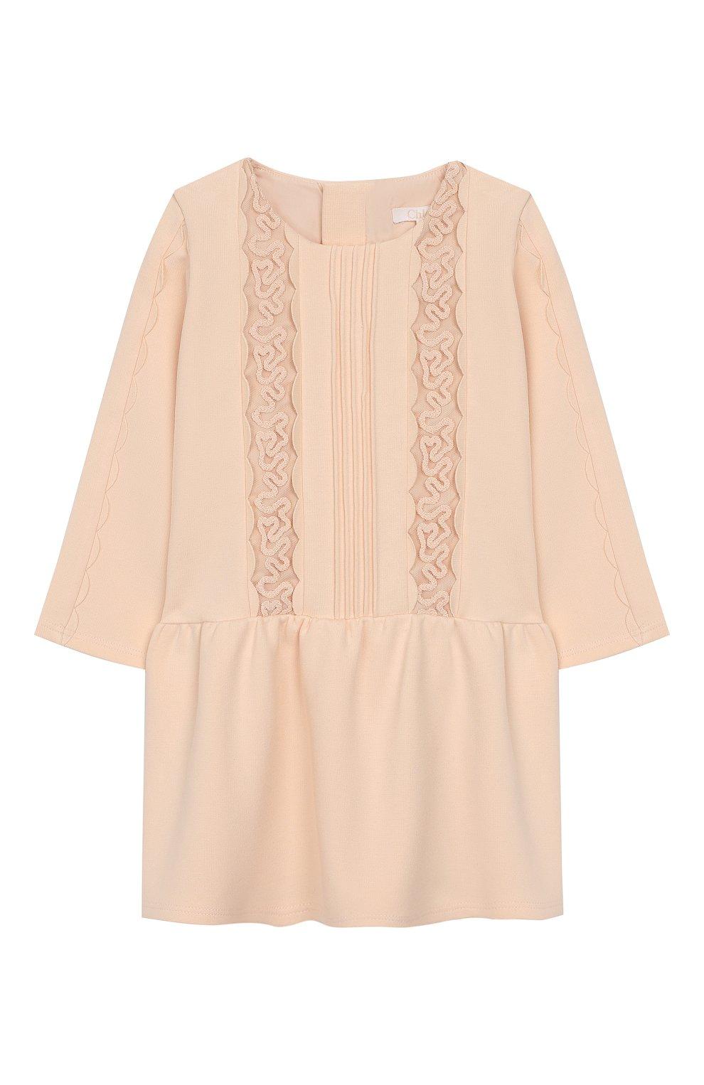 Женский платье CHLOÉ розового цвета, арт. C02234 | Фото 1