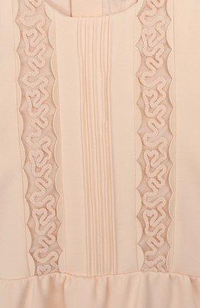 Женский платье CHLOÉ розового цвета, арт. C02234 | Фото 3