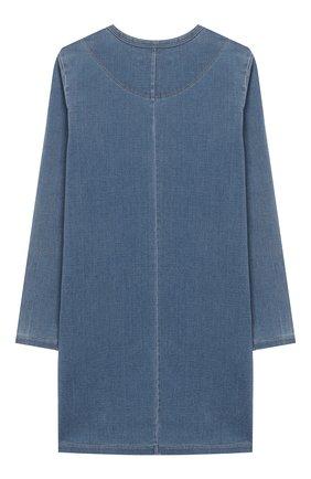 Детское платье CHLOÉ голубого цвета, арт. C12747 | Фото 2